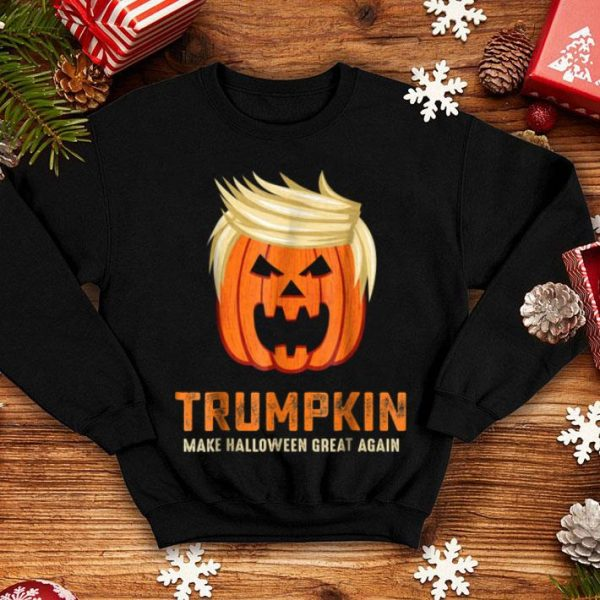 Beautiful Halloween Trumpkin Funny shirt