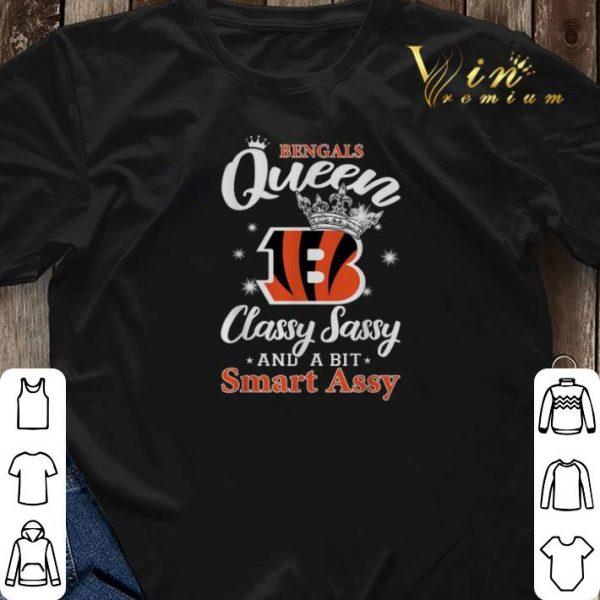 Cincinnati Bengals queen classy sassy and a bit smart assy shirt sweater