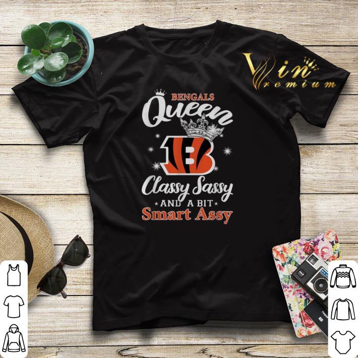Cincinnati Bengals queen classy sassy and a bit smart assy shirt sweater 4 - Cincinnati Bengals queen classy sassy and a bit smart assy shirt sweater
