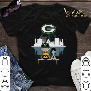 Green Bay Packers NFL Snoopy and Charlie shirt