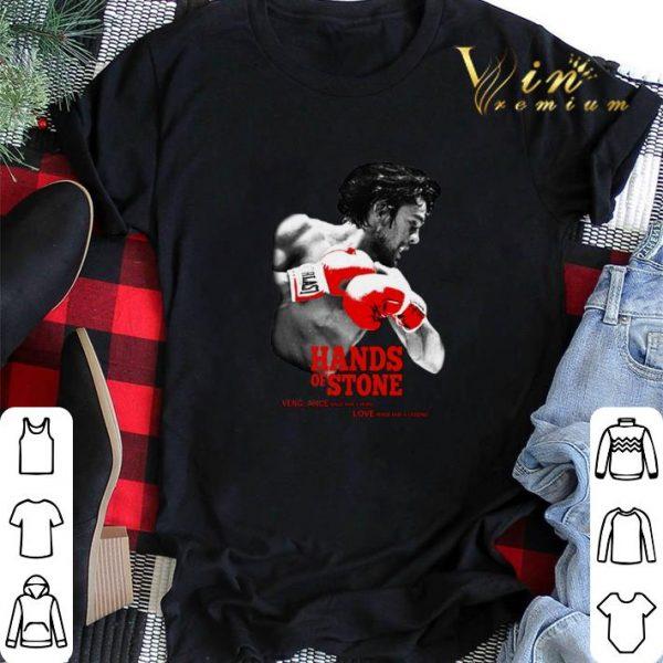 Hands of Stone vengeance made him a hero love made him a legend shirt sweater