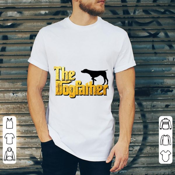 Hot German Wirehaired The Dogfather shirt