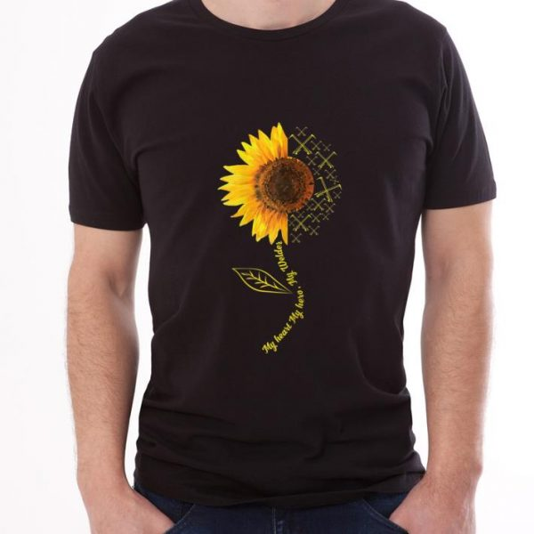Hot My Heart My Hero My Welder Sunflower shirt