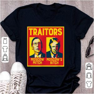 Hot Traitors Moscow Mitch Moscow's Bitch McConnell Trump shirt