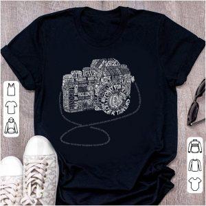 Nice Camera Amazing Anatomy Typography shirt