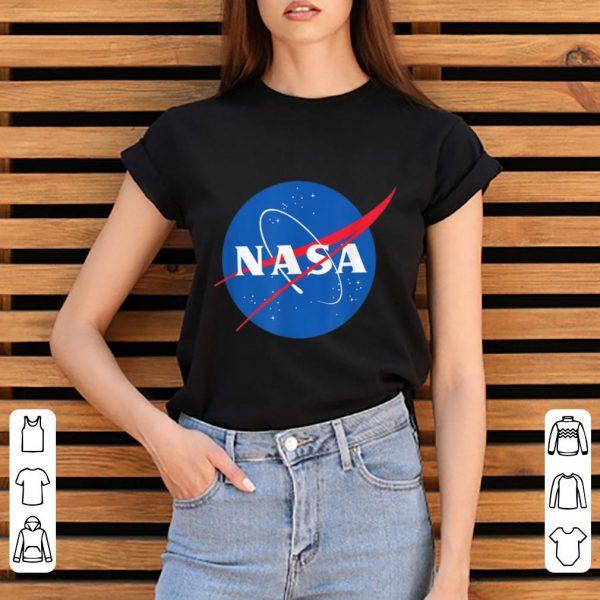 Nice The official NASA Logo shirt