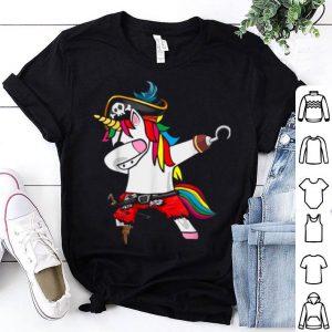 Official Dabbing Unicorn Pirate Halloween Kids Boys Girls Gift shirt
