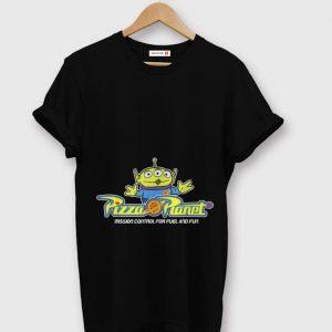 Official Disney Pixar Toy Story Alien Pizza Planet Mission Control shirt