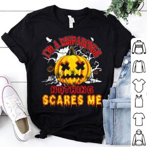 Official Nothing Scares Me I'm A 911 Dispatcher Halloween Funny shirt