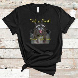 Official Trick Or Treat I'm A Zombie Trash Panda shirt