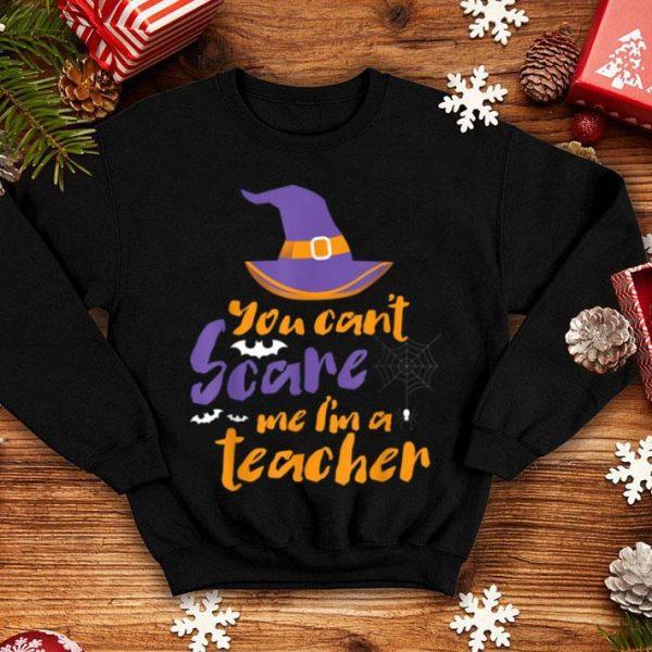 Official You can't scare me I'm a teacher tee halloween teacher shirt