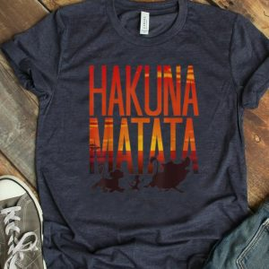 Original Disney Lion King Hakuna Matata Sunset shirt