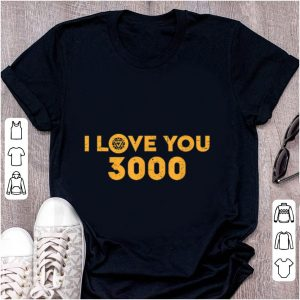 Original Marvel Avengers Endgame Iron Man I Love You 3000 shirt