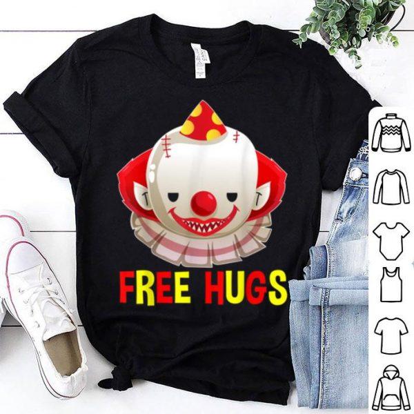 Original Scary Clown Evil Halloween Free Hugs shirt