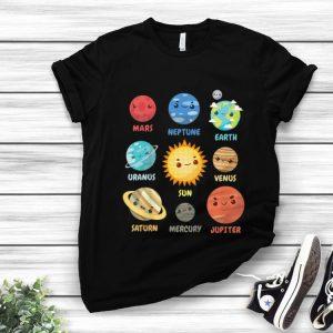 Original Solar System Planets shirt