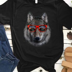 Original Wolf in Retro Sunglass Frame shirt
