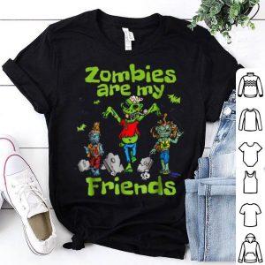 Original Zombies Are My Friends Halloween T-Shirt shirt