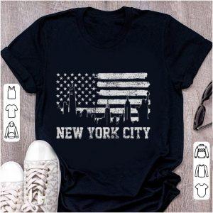 Premium New York City American Flag shirt