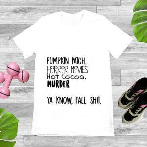 Premium Pumpkin Patch Watch Horror Movie Halloween shirt