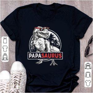 Premium T rex Papa Saurus Dinosaur Sunglass shirt