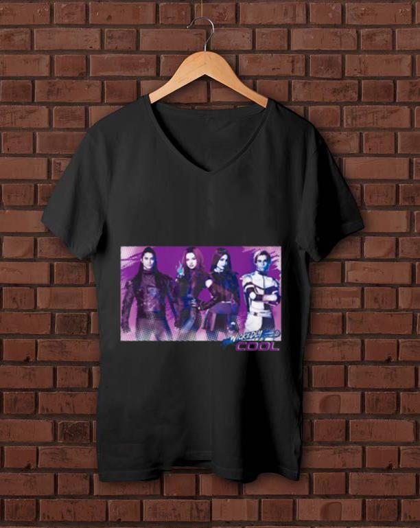 Pretty Carlos Mal Jay Evie Wickedly Cool Descendants 3 shirt