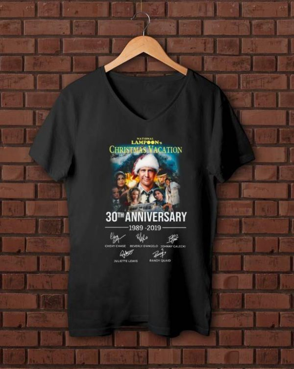 Pretty Christmas Vacation 30th Anniversary 1989 2019 Signature shirt