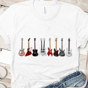 Pretty Guitar Electric Musical Instrument Rock N Roll shirt