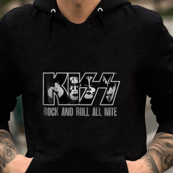 Pretty Kiss Rock And Roll All Nite shirt