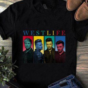 Pretty Westlife Colour Heads shirt