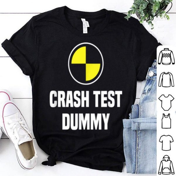 Top Crash Test Dummy Easy Last Minute Halloween Costume shirt