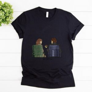 Top The Office Jim and Pam Roof Date shirt