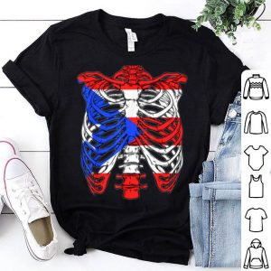 Awesome Skeleton Puerto Rico Halloween Puerto Rican shirt