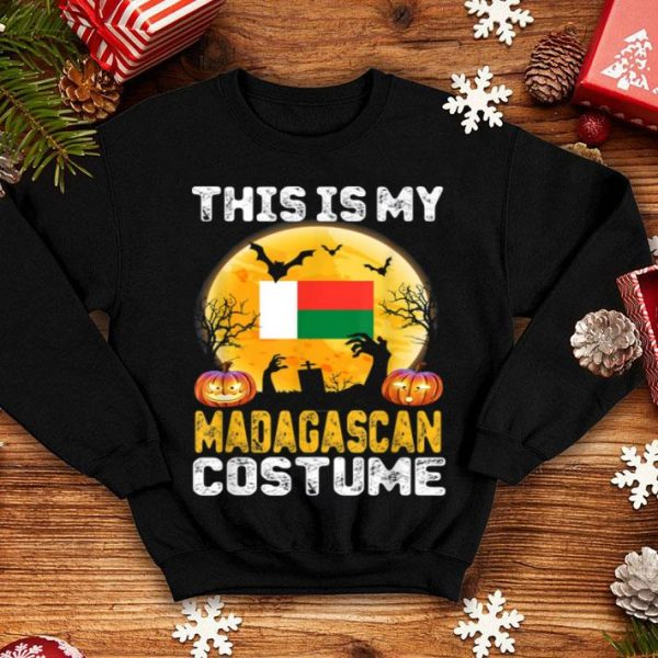 Beautiful This Is My Madagascan Flag Costume Halloween Madagascar shirt