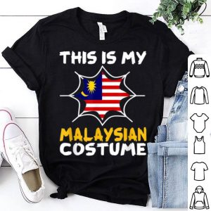 Beautiful This Is My Malaysian Costume Halloween Patriot Malaysia shirt
