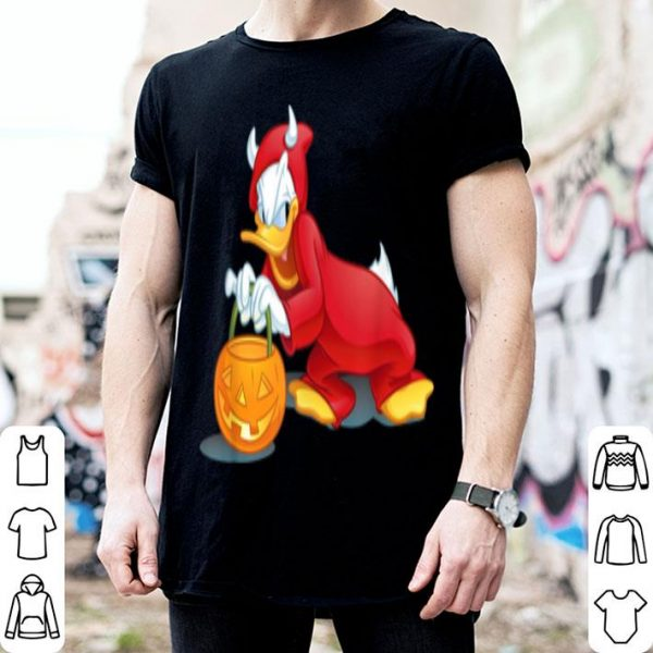 Disney Halloween Donald Duck Devil shirt