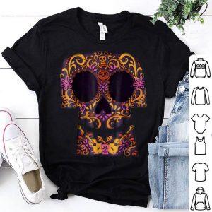 Funny Disney Pixar Coco Collage Skull Halloween Graphic shirt