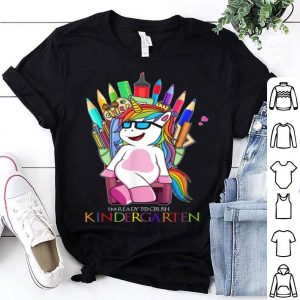 Funny Unicorn Throne Back To School I'm Ready To Crush shirt