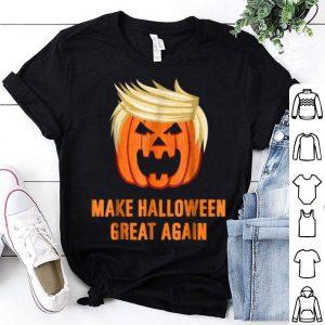Nice Make Halloween Great Again Funny Trumpkin shirt