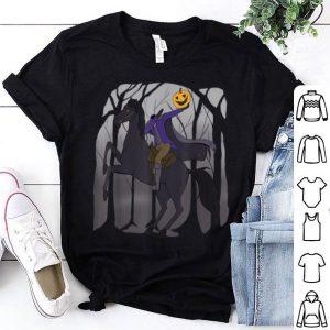 Official Dabbing Halloween - Headless Horseman with Pumpkin shirt