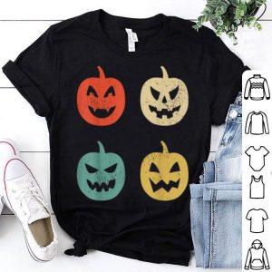 Official Vintage Pumpkin Funny Halloween Retro Gift shirt
