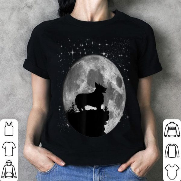 Original Cute Corgi Tee Dog Lover Moon Landing 50th Anniversary shirt