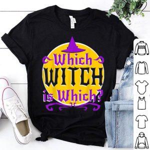 Original Halloween English Lit Teacher Grammar Witch Which Funny shirt