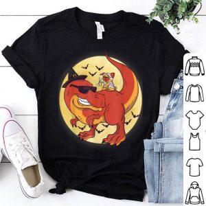 Original Halloween Pug TRex Dinosaur Witch Gift For Halloween shirt