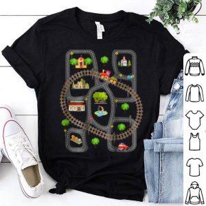 Play Mat Rug Design Car Trail Playmat shirt