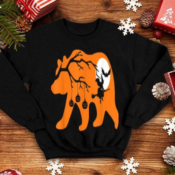 Top Halloween Papa Bear Gift shirt
