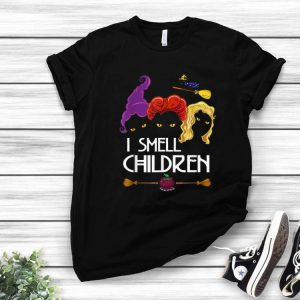 Witches I Smell Kids Children Halloween Costume shirt