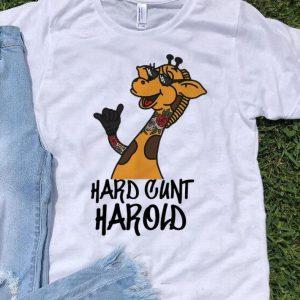 Giraffe Hard Cunt Harold Tattoo shirt