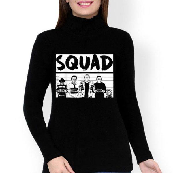 Horror Villains Squad Scary Halloween Costume shirt