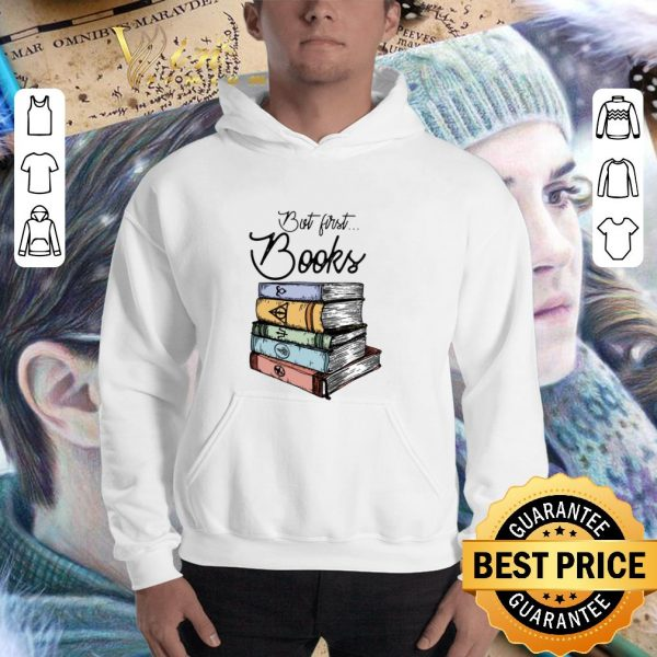 Awesome But first books Harry Potter shirt