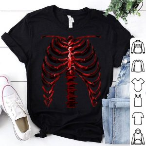 Awesome Skeleton Rib Cage Cool Halloween shirt